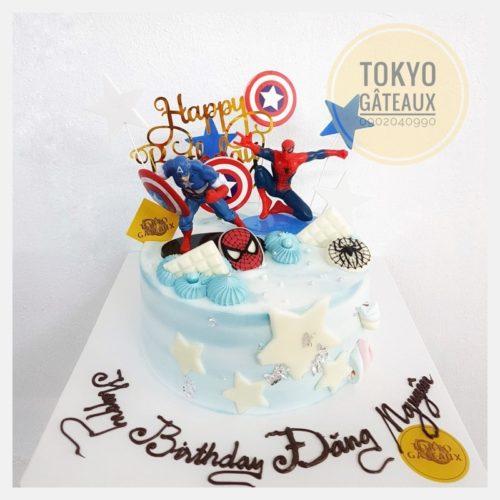 Bánh sinh nhật siêu nhân