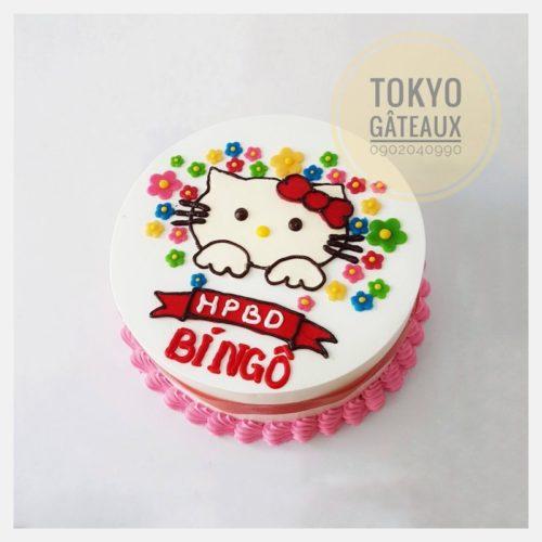 Bánh sinh nhật bé gái