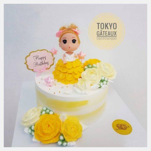 Bánh sinh nhật công chúa