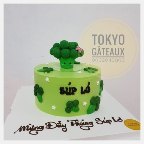 bánh sinh nhật súp lơ sz18 4lớp - 650