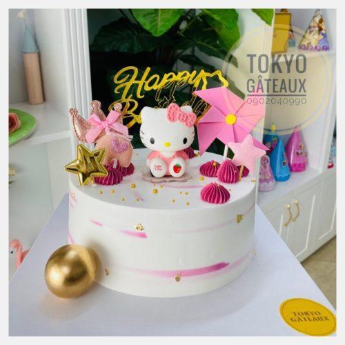 bánh sinh nhật Hello Kityt sz18 - 310